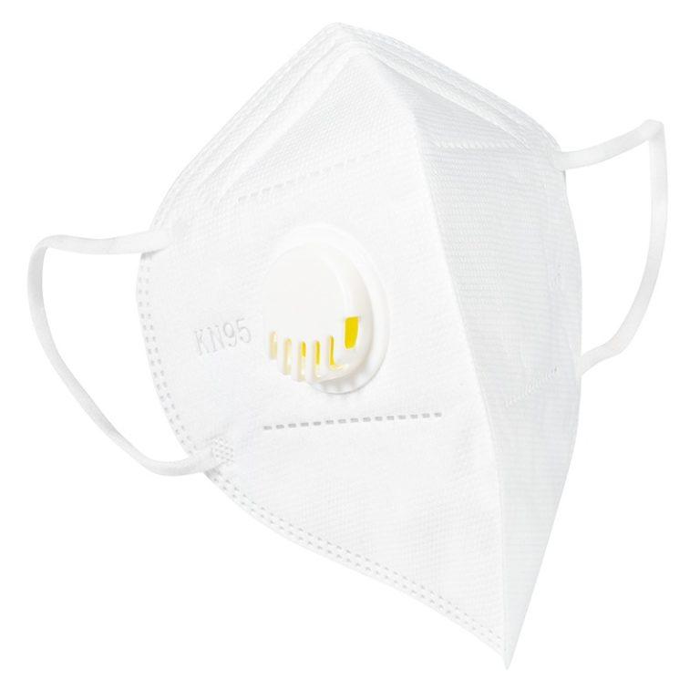 Set 5 Masti cu 5 straturi de protectie respiratorie cu supapa, valva pentru expiratie standard FFP2 /KN95/ N95